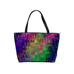 Background Abstract Art Color Classic Shoulder Handbag by Nexatart
