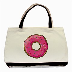 Donut Basic Tote Bag by walala