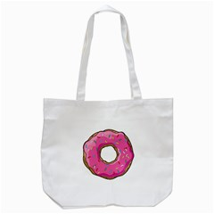 Donut Tote Bag (white) by walala