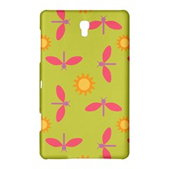 Dragonfly Sun Flower Seamlessly Samsung Galaxy Tab S (8 4 ) Hardshell Case