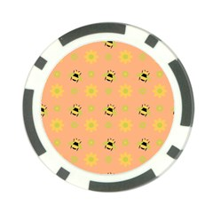 Bee A Bug Nature Poker Chip Card Guard (10 Pack)