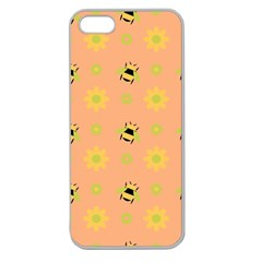 Bee A Bug Nature Apple Seamless Iphone 5 Case (clear)
