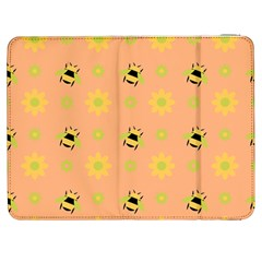 Bee A Bug Nature Samsung Galaxy Tab 7  P1000 Flip Case by Nexatart