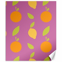 Seamlessly Pattern Fruits Fruit Canvas 20  X 24  by Nexatart
