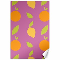 Seamlessly Pattern Fruits Fruit Canvas 24  X 36