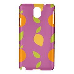 Seamlessly Pattern Fruits Fruit Samsung Galaxy Note 3 N9005 Hardshell Case