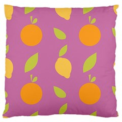 Seamlessly Pattern Fruits Fruit Standard Flano Cushion Case (two Sides) by Nexatart