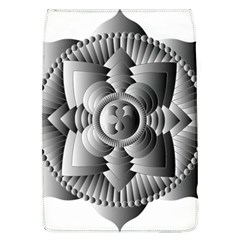 Lotus Mandala Flower Floral Removable Flap Cover (l)