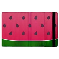 Watermelon Fruit Summer Red Fresh Apple Ipad 3/4 Flip Case by Nexatart