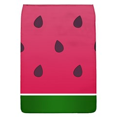 Watermelon Fruit Summer Red Fresh Removable Flap Cover (l)