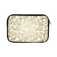 Gold Vintage Rococo Model Patern Apple Ipad Mini Zipper Cases