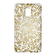 Gold Vintage Rococo Model Patern Samsung Galaxy Note Edge Hardshell Case