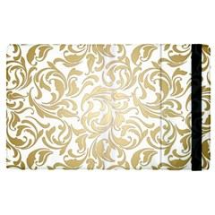 Gold Vintage Rococo Model Patern Apple Ipad Pro 9 7   Flip Case