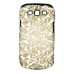 Gold Vintage Rococo Model Patern Samsung Galaxy S Iii Classic Hardshell Case (pc+silicone)