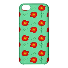 Flowers Pattern Ornament Template Apple Iphone 5c Hardshell Case