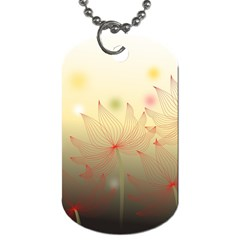 Flower Summer S Nature Plant Dog Tag (two Sides)