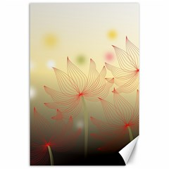 Flower Summer S Nature Plant Canvas 24  X 36