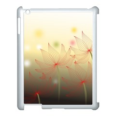 Flower Summer S Nature Plant Apple Ipad 3/4 Case (white)