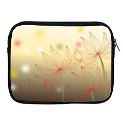 Flower Summer S Nature Plant Apple Ipad 2/3/4 Zipper Cases