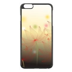 Flower Summer S Nature Plant Apple Iphone 6 Plus/6s Plus Black Enamel Case