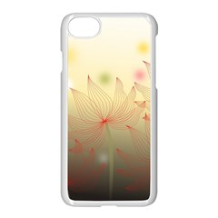Flower Summer S Nature Plant Apple Iphone 7 Seamless Case (white) by Nexatart