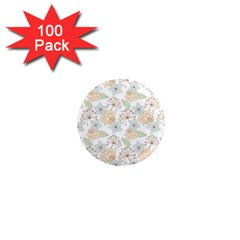 Dandelion Colors Nature Flower 1  Mini Magnets (100 Pack)
