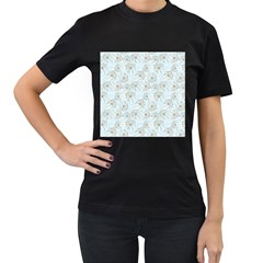 Tooth Of Lion Dandelion Women s T Shirt (black)