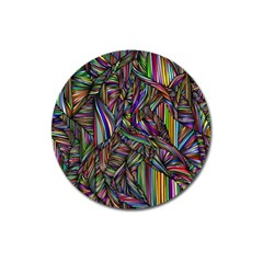 Background Wallpaper Abstract Lines Magnet 3  (round) by Nexatart