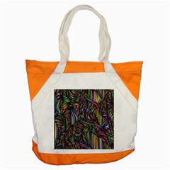 Background Wallpaper Abstract Lines Accent Tote Bag