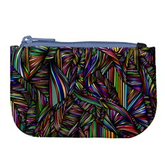Background Wallpaper Abstract Lines Large Coin Purse by Nexatart