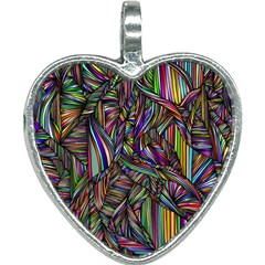 Background Wallpaper Abstract Lines Heart Necklace