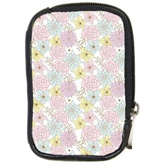 Dandelion Colors Flower Nature Compact Camera Leather Case