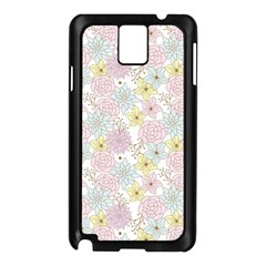 Dandelion Colors Flower Nature Samsung Galaxy Note 3 N9005 Case (black)