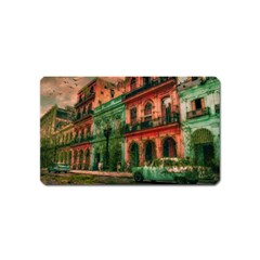 Havana Cuba Architecture Capital Magnet (name Card) by Nexatart