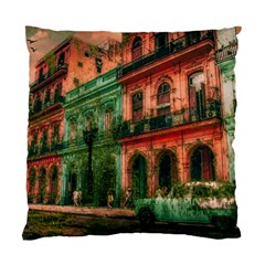 Havana Cuba Architecture Capital Standard Cushion Case (two Sides) by Nexatart
