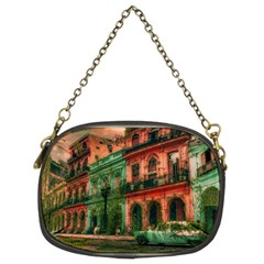 Havana Cuba Architecture Capital Chain Purse (two Sides)