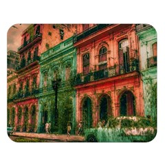 Havana Cuba Architecture Capital Double Sided Flano Blanket (large)