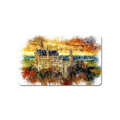 Architecture Castle Fairy Castle Magnet (name Card)