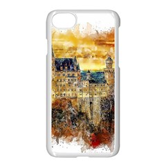Architecture Castle Fairy Castle Apple Iphone 7 Seamless Case (white)