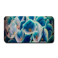 Hydrangeas Blossom Bloom Blue Medium Bar Mats