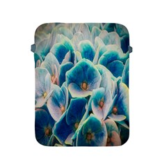 Hydrangeas Blossom Bloom Blue Apple Ipad 2/3/4 Protective Soft Cases