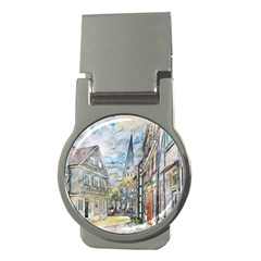 Altstadt Hattingen Ruhr Trail Money Clips (round)  by Nexatart
