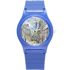 Altstadt Hattingen Ruhr Trail Round Plastic Sport Watch (s) by Nexatart