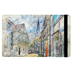 Altstadt Hattingen Ruhr Trail Apple Ipad Pro 9 7   Flip Case