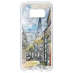 Altstadt Hattingen Ruhr Trail Samsung Galaxy S8 White Seamless Case