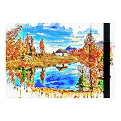 Lake Chalet Mountain Art Apple Ipad Pro 10 5   Flip Case