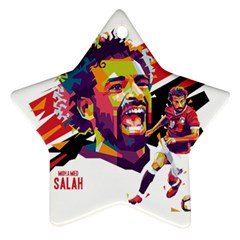 Mo Salah The Egyptian King Ornament (star) by 2809604