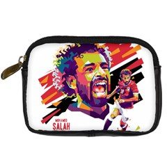 Mo Salah The Egyptian King Digital Camera Leather Case by 2809604