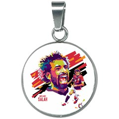 Mo Salah The Egyptian King 20mm Round Necklace by 2809604