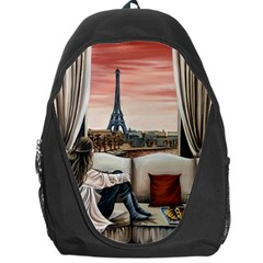 Parisian Dreams  Backpack Bag by ArtByThree